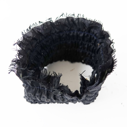 Black fabric cuff Pagham 22 Dec 17