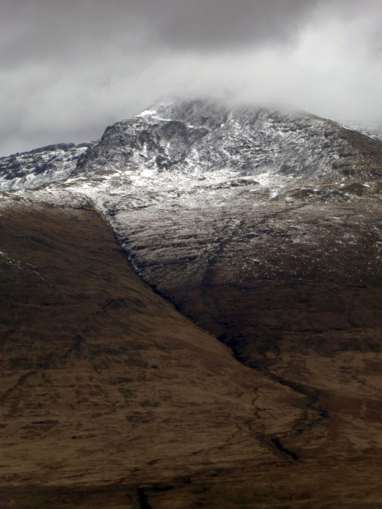 Snow on Ben Mor
