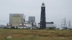 Nuclear Plant and Lighthouse