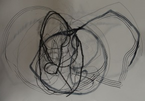 Continuous line drawing 1