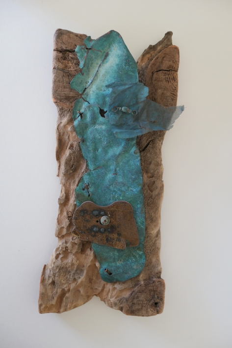 """Copper Recycled"" 37 cm H x 15 cm W £195"