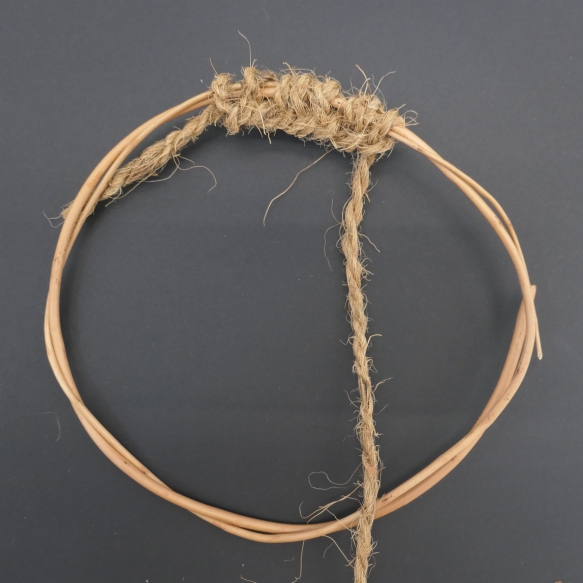 A willow ring was the starting point