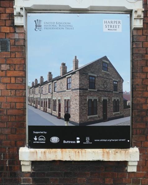 Harper St, Middleport, Stoke on Trent poster