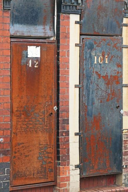 Two doors Harper Street