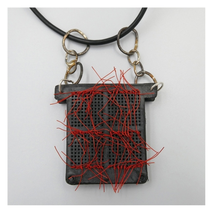 3M necklace close up