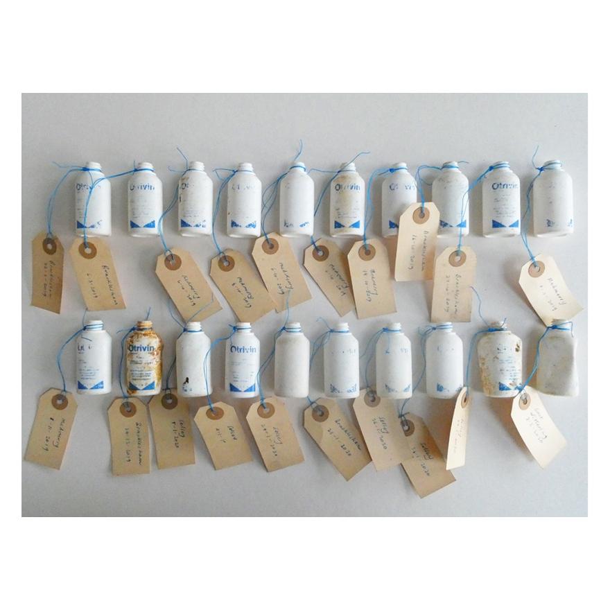 Otrivin bottles with labels